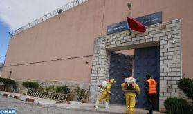 Covid19 : Opération de désinfection à la prison locale de Taourirt