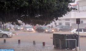 Fortes averses orageuses et chutes de neige du dimanche au mardi dans plusieurs provinces du Royaume (Bulletin spécial)