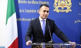 Le ministre italien des AE salue les grandes réformes entreprises par SM le Roi