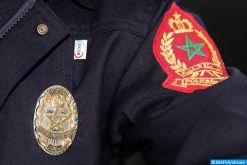 Benslimane: un policier contraint de dégainer son arme pour arrêter un individu ayant exposé des citoyens à une grave menace