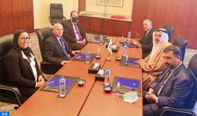 Le Président du Parlement arabe salue le rôle pionnier joué par SM le Roi dans le soutien aux questions arabes et régionales