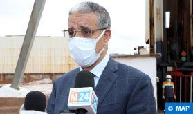 M. Rabbah souligne l'importance accordée au développement des capacités de stockage des hydrocarbures