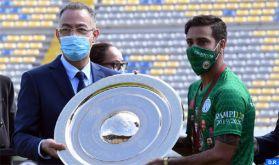 Botola Pro D1: Remise au Raja de Casablanca du Trophée de champion