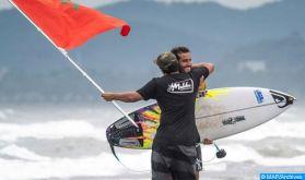 Championnat du monde de surf : Ramzi Boukhiam remporte l'étape de Hang Loose au Brésil