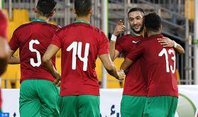 Eliminatoires CAN-2021: le Maroc s'impose 2-0 face à la République centrafricaine