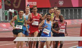 JO/Athlétisme: les Marocains El Bakkali et Tindouft en finale du 3000 m steeple