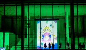 """Des dessins d'enfants souiris projetés sur les façades du prestigieux """"Statens Museum for Kunst"""" au Danemark"""