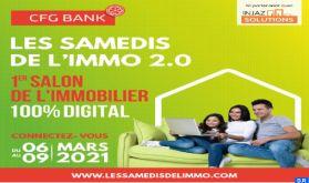"""""""Les Samedis de l'Immo"""", du 6 au 9 mars en mode virtuel"""