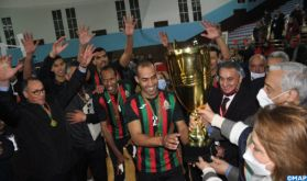 Coupe du Trône de volleyball (Messieurs): L'AS FAR remporte le titre aux dépens du FUS de Rabat (3-1)