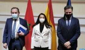 La gestion migratoire au centre d'une réunion à Madrid entre Mme Benyaich et le secrétaire d'Etat espagnol aux Migrations