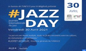 """Diffusion le 30 avril d'une œuvre musicale liée au """"Jazz Day"""""""