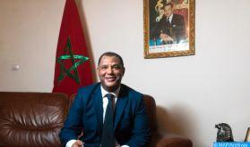 Le ministre malien des Affaires étrangères reçoit l'ambassadeur du Maroc et Doyen du Corps diplomatique à Bamako