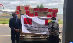 Covid-19 : La Guinée-Bissau réceptionne l'aide médicale marocaine