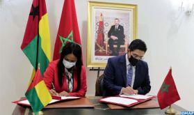 Signature de quatre accords de coopération entre le Maroc et la Guinée Bissau