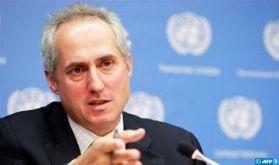 """La brève présence de deux observateurs de la Minurso au soi-disant congrès du polisario """"n'implique aucune position politique"""" (ONU)"""
