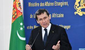 """Le Turkménistan appuie l'initiative d'autonomie marocaine comme """"unique solution"""" au différend autour du Sahara"""