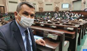 Le président du groupe parlementaire Pologne-Maroc exprime sa reconnaissance pour les actions pacifiques de SM le Roi