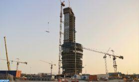 Tour Mohammed VI : les travaux de gros œuvres réalisés à hauteur de 75%