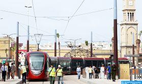 Casablanca: Pas plus de 100 passagers assis par rame de tramway (RATP Dev)