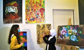 """""""Venez nous entendre"""", une exposition d'enfants sourds pour la première fois à Tanger"""