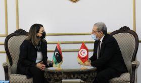 Visite de la ministre libyenne en Tunisie