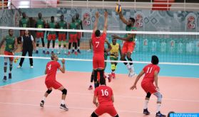 CAN de Volleyball : le Maroc bat le Rwanda et passe en demi-finales