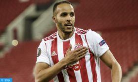 Le Marocain Youssef El Arabi offre à l'Olympiakos le titre de champion de Grèce