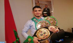 Vibrant hommage à Bruxelles au champion du monde de Muay Thaï, le Marocain Youssef Boughanem