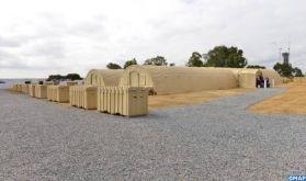 Maroc-USA: Inauguration à Salé d'une unité mobile sanitaire d'isolement à pression négative