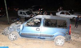 Accidents de la circulation: 15 morts et 2.382 blessés la semaine dernière