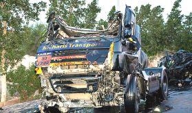 Les accidents de la route, ou l'erreur qui coûte cher