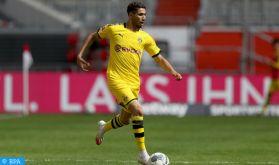 Foot : Hakimi, 6ème meilleur passeur de la Bundesliga