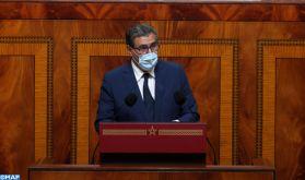 M. Akhannouch : La production céréalière s'établit jusqu'à présent à 5,7 millions de quintaux