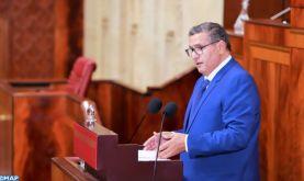 M. Akhannouch décline les principaux engagements de son gouvernement pour 2021-2026