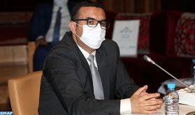 M. Amekraz: La couverture médicale pour les travailleurs indépendants en cours de mise en oeuvre