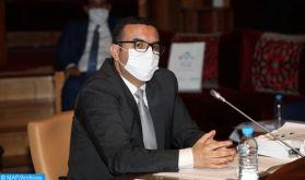 Conseil de gouvernement: M. Amkraz présente la politique nationale dans le domaine de la santé et de la sécurité au travail