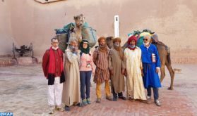 L'aventurière écossaise Alice Morrison clôture en beauté son long périple à travers le Maroc