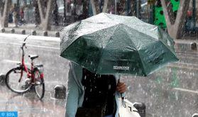 Averses orageuses localement fortes ce jeudi dans plusieurs provinces du Royaume (Bulletin spécial)