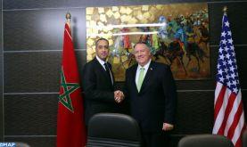 M. Abdellatif Hammouchi s'entretient avec le secrétaire d'Etat Américain