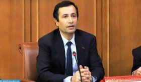 M. Benchaâboun participe par visioconférence aux réunions annuelles de printemps du FMI et de la Banque Mondiale