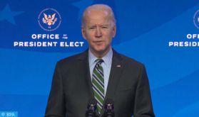 Face à des défis à la pelle, Biden promet un agenda ambitieux