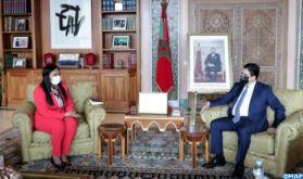 Le renforcement de la coopération bilatérale au centre d'entretiens de M. Bourita avec son homologue bissau-guinéenne