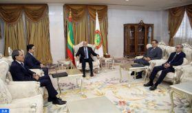 M. Bourita reçu à Nouakchott par le président mauritanien