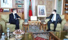 M. Bourita s'entretient avec le ministre français de l'Intérieur