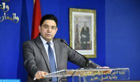 Prétendue infiltration de téléphones: Toute personne ou organisme portant des accusations contre le Maroc devra en produire la preuve (M. Bourita)