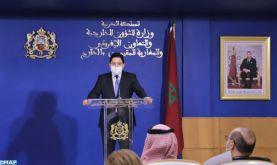 M. Bourita : Il y a une convergence de points de vue entre le Maroc et l'Arabie Saoudite concernant la résolution de la crise libyenne