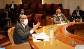 La Chambre des Conseillers: adoption en commission d'un projet de loi édictant des mesures spécifiques à l'état d'urgence sanitaire