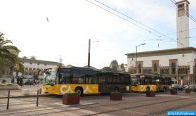 Casablanca: Une nouvelle flotte de bus pour un nouveau départ du transport urbain