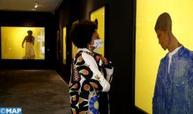 """Casablanca: Vernissage de l'exposition """"The Silent Mirror"""" du plasticien M'barek Bouhchichi"""