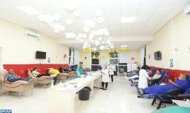 Marrakech : Forte mobilisation des donneurs de sang à groupes rares